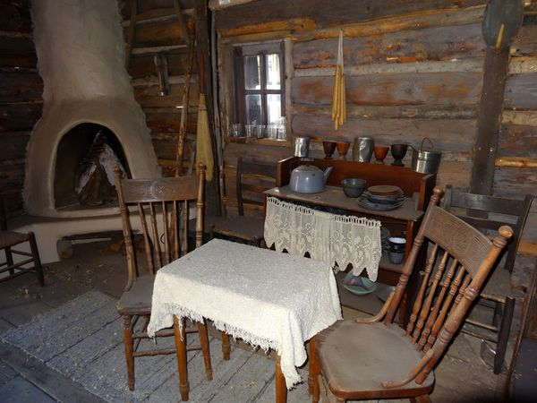 Silver City Billy The Kid cabin intérieur 1