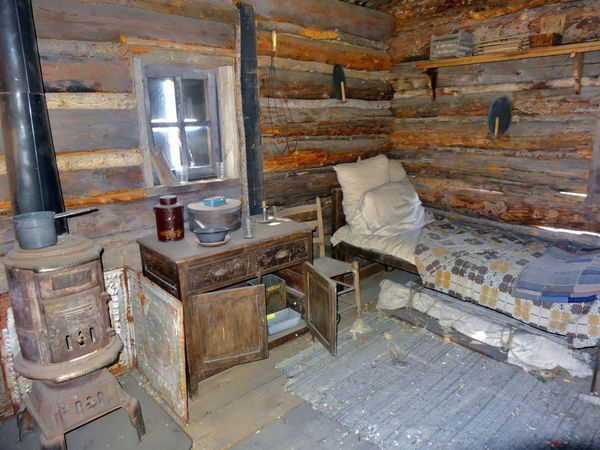 Silver City Billy The Kid cabin intérieur 2