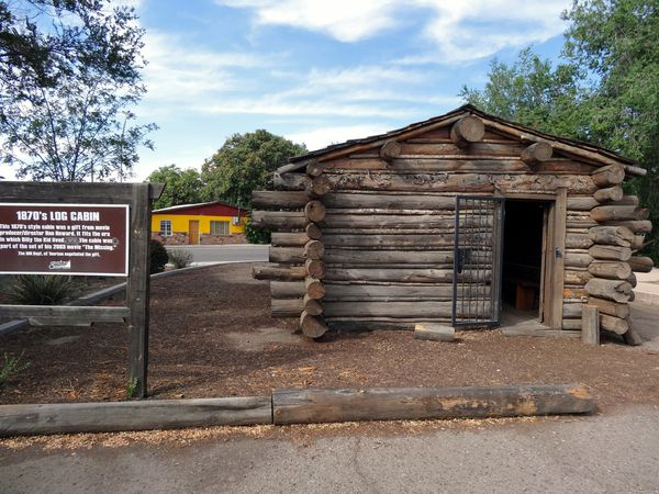 Silver City Billy The Kid cabin
