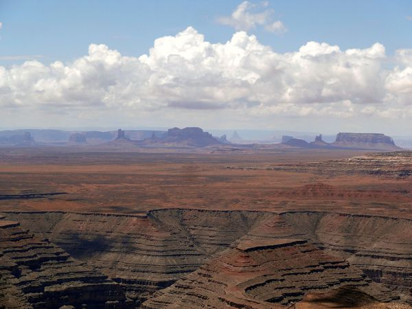 Muley point vue sur Monument Valley
