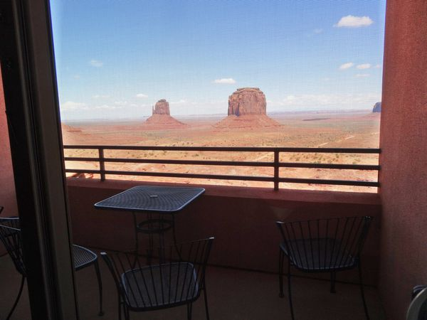 Monument Valley The view vue