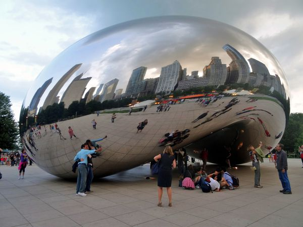 Chicago Cloud Gate 1