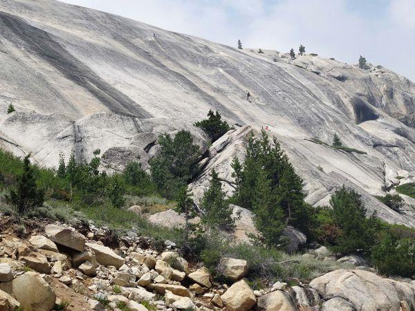 Yosemite Tioga Pass Rd Tuolumne Meadows dome 2