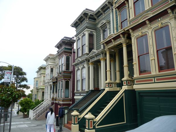 San Francisco Haight Ashbury Maisons 5