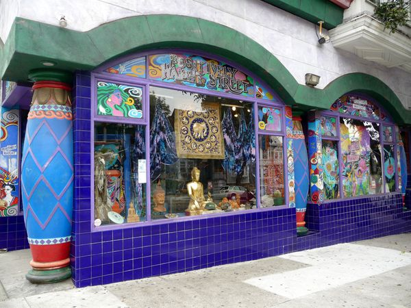 San Francisco Haight Ashbury positive