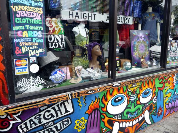 San Francisco Haight Ashbury shop