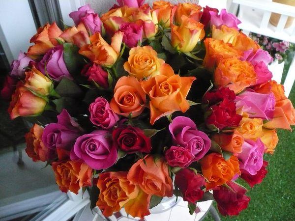 Les fleurs made in francoise broderies for Bouquet de fleurs fetes des meres