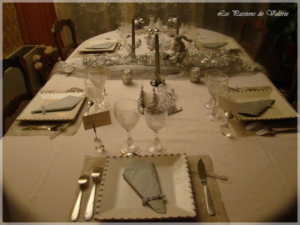 Deco de table d co de table scrapbooking et autres for Deco de table jour de l an