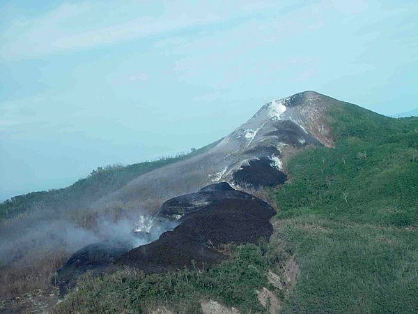 Pago crater lime and lava to NO - M.Yoshimoto