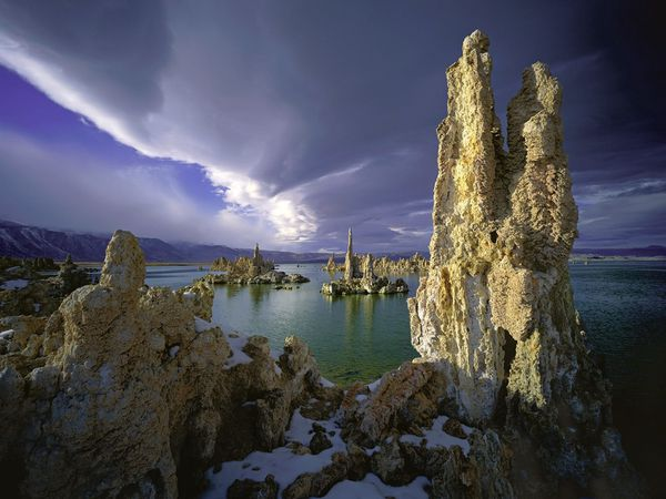 Wallpapers Tufa Towers - Mono Lake - California