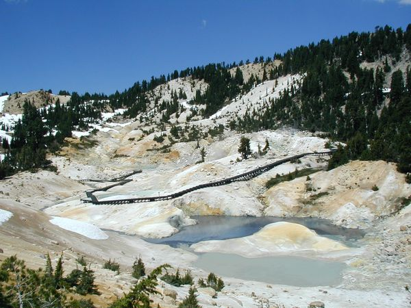 Lassen Peak hydroth.area - Bumpass hell