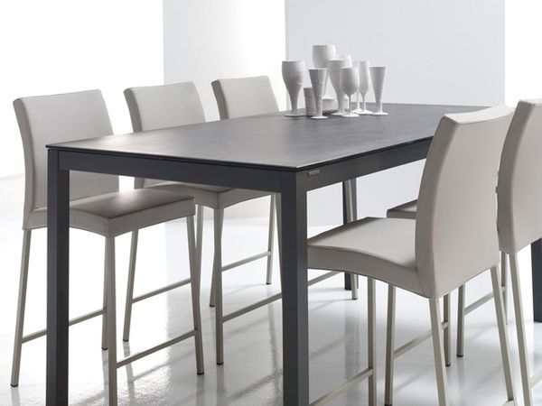 Table ceramique altea exodia home design tables for Table sejour avec rallonge