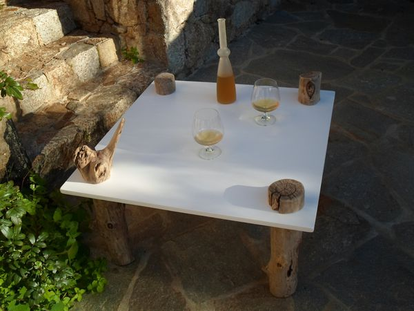Table basse en bois flotte 28 images table basse en for Table basse bois flotte
