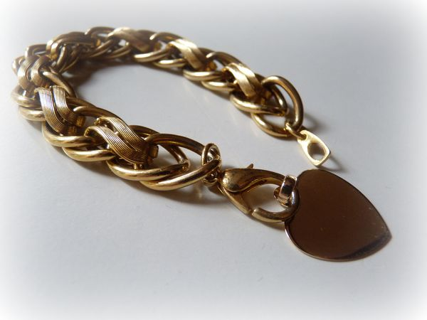 bracelet vintage et coeur