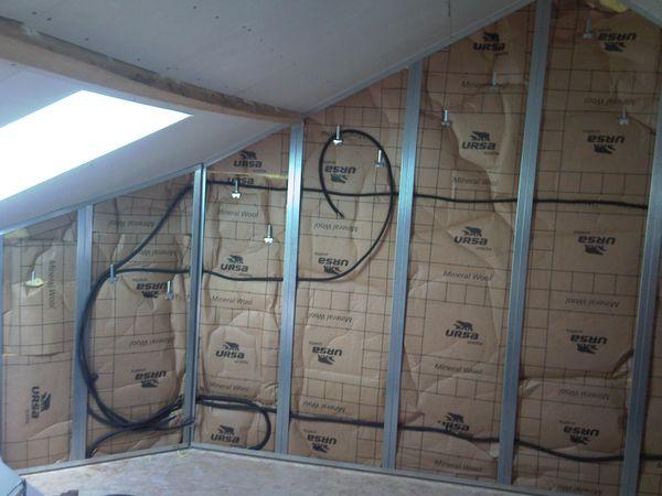 De l 39 lectricit au finition de la chambre le 1 09 2011 - Installation chambre de culture ...