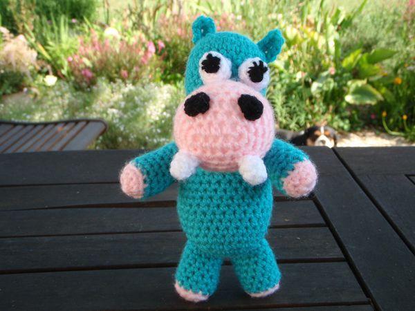 Hippopotame, amigurumi - Le blog de Charline