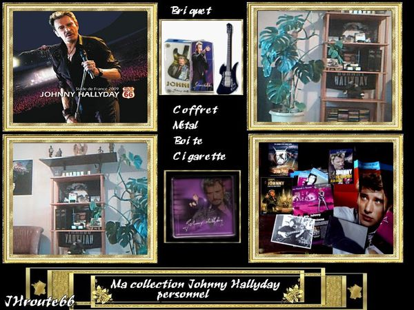 ma collection johnny hallyday personnel jhroute66 n 1 le. Black Bedroom Furniture Sets. Home Design Ideas