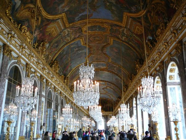 255a Hall of Mirrors, Versailles