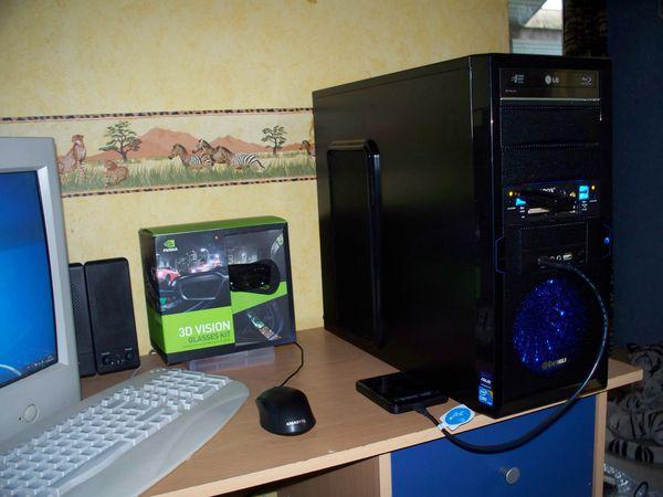 assemblage test et vente d 39 un pc gamer extreme nvidia 3d vision performance pc assembleur. Black Bedroom Furniture Sets. Home Design Ideas