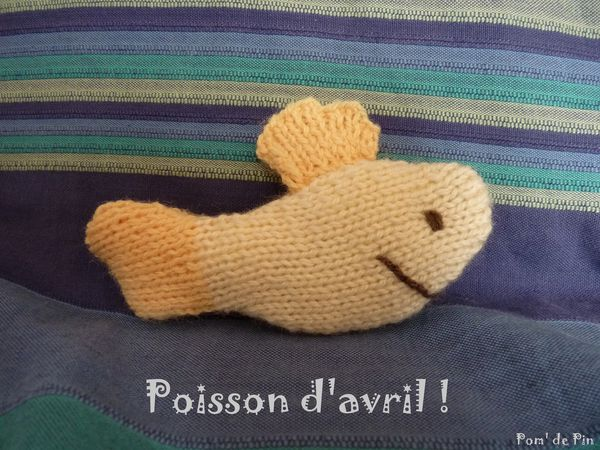 Poisson d'avril ! jaune