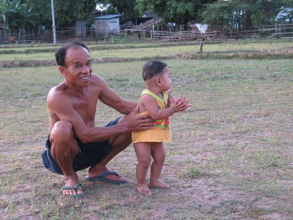Laos Foot supporter