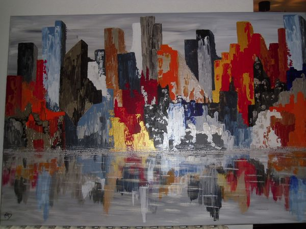 New york les tableaux de mo - Tableau de new york ...