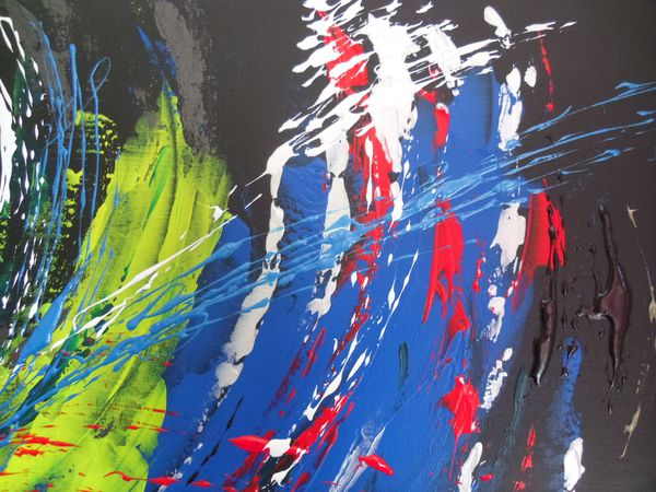 colors of life detail 1jpg - Tableaux Abstraits Colors