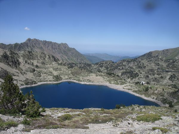 Photos Lac de Campana 5 juillet Paul Arnaud Idris 155