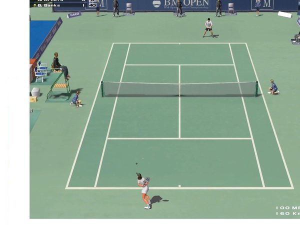 Dream Match Tennis Capture 1