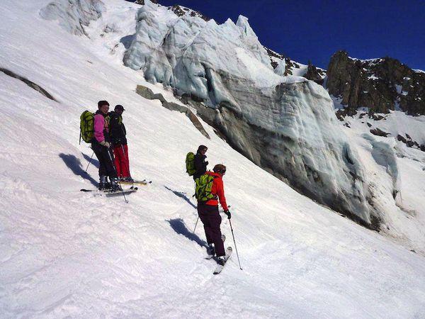 hors piste Chamonix 03