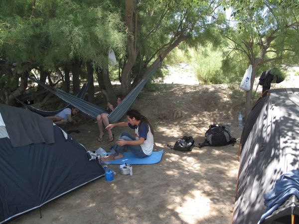 Camping a Puerto Madryn