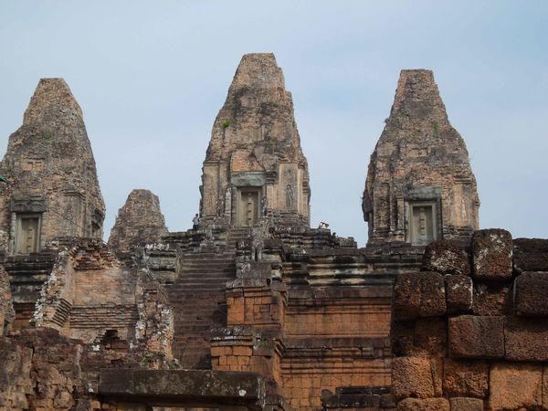 Angkor, temple montagne