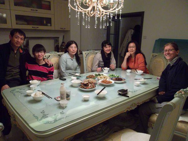 Beijing, repas de famille