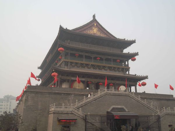 Xi'an, drum tower