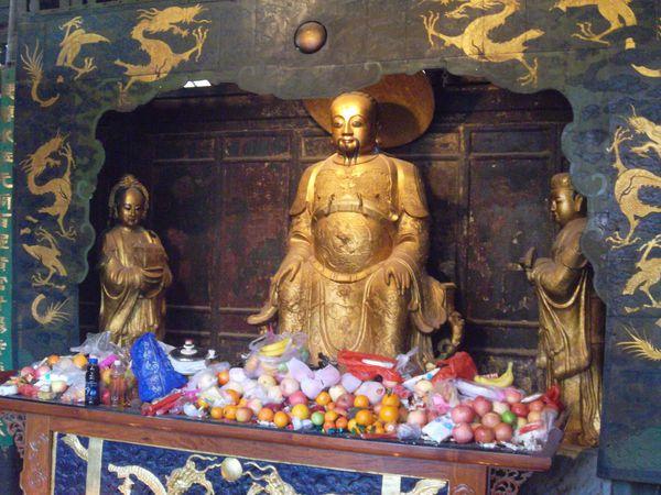 Kunming, golden temple 1