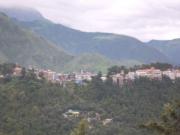 Dharamsala, vue 1