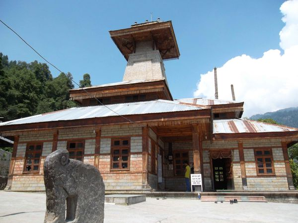 Old Manali, temple
