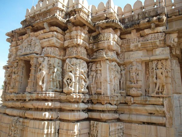 Chittor, temple