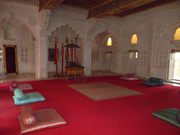 Jodhpur, chambre du fort