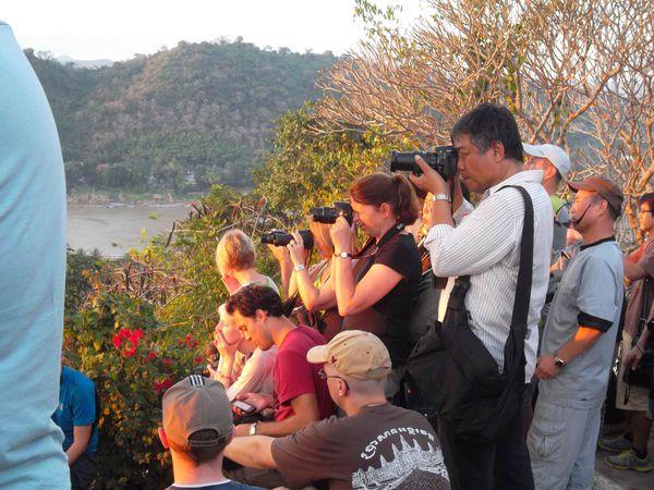 Luang Prabang couché de soleil 1