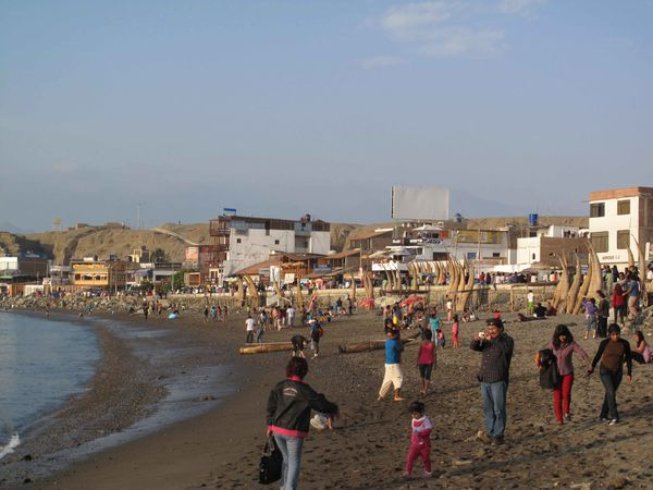 Huanchaco, plage