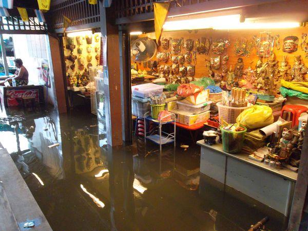 Bangkok, fleuve inondations