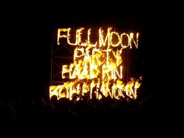 Phangan, full moon 2