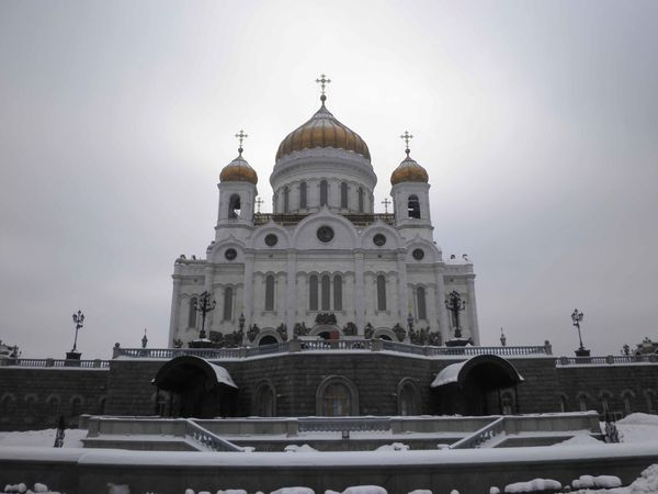 Moscow cathédrale