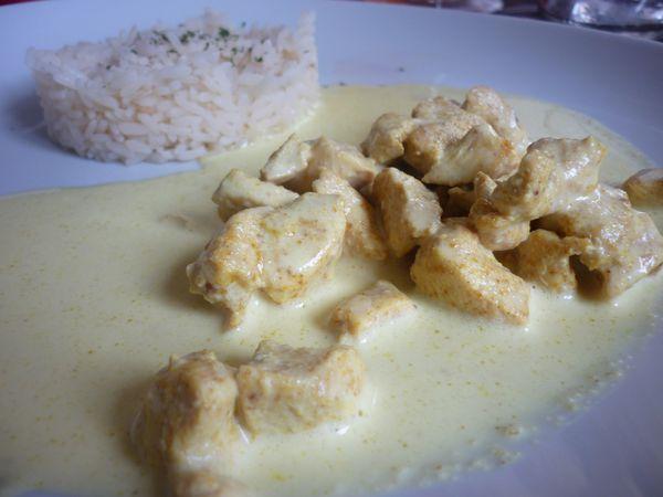colombo de poulet et riz