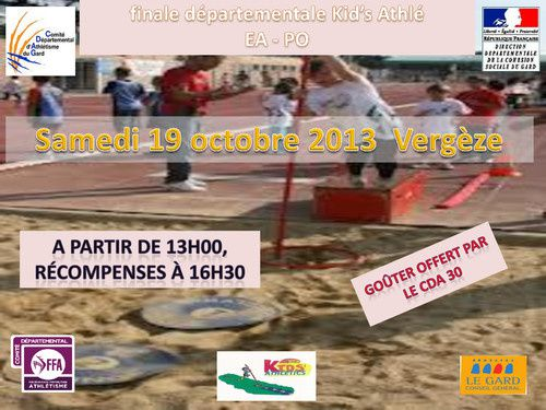 1-finale KID ATHLE 2013