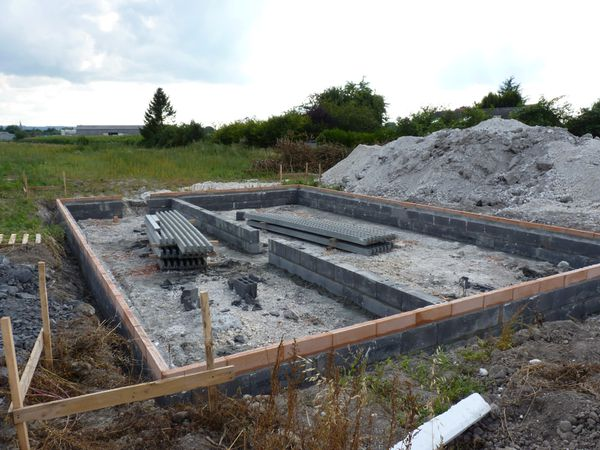 Montage Du Vide Sanitaire - Notre Construction Maison Avec Habitat