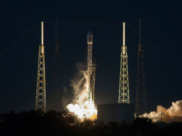 SpaceX - Falcon 9 - SES-8 - Décollage - 03-12-2013
