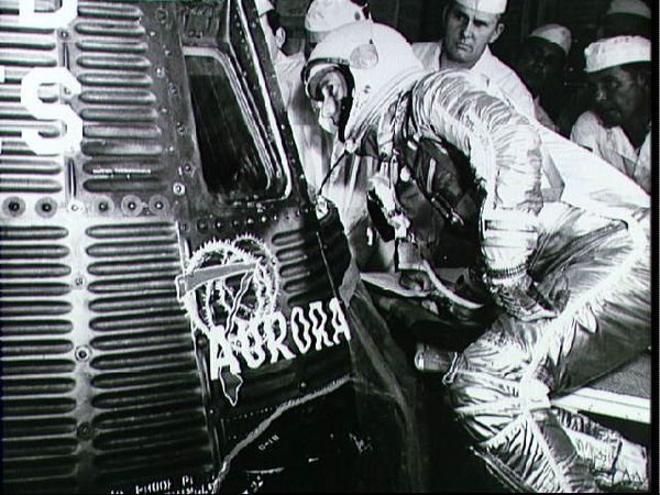 NASA - Scott Carpenter - Mercury - 50 ans - 24 mai 1962
