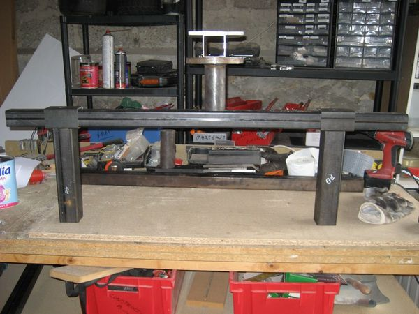 Brico fabrication d 39 un tourne broche de carrossier le for Fabrication d un four a pain artisanal